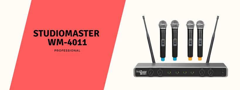 Studiomaster WM-4011