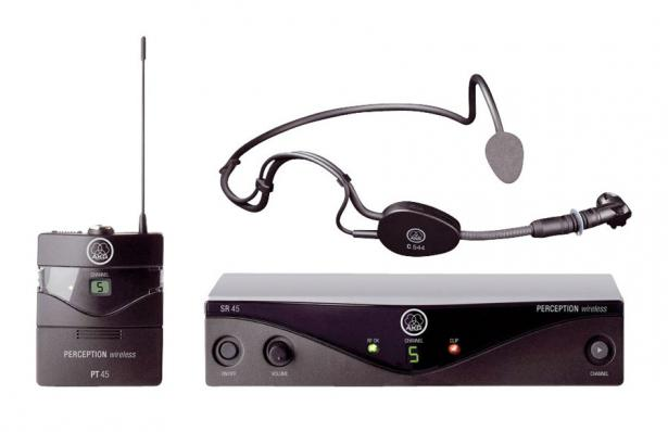 AKG Perception Wireless 45 Sports Set BD U2