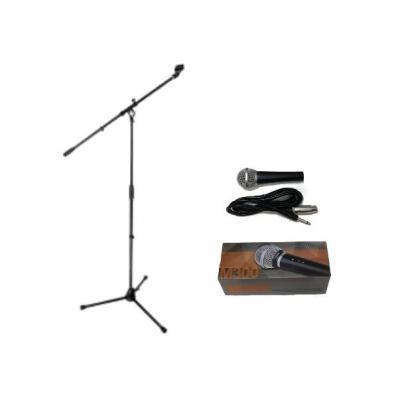 Комплект микрофон со стойкой и кабелем