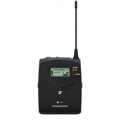 507585 SK 100 G4-A1 Поясной передатчик для радиосистем, 470-516 МГц, Sennheiser