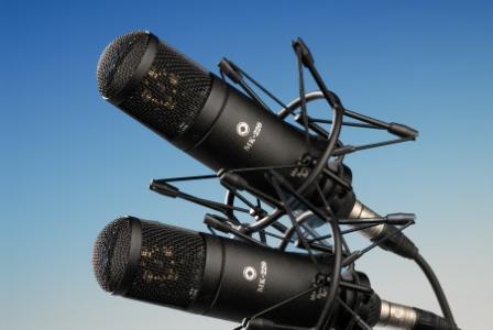 МК-220-Ч-С Микрофон конденсаторный, мультидиаграммный, стереопара, черный, Октава