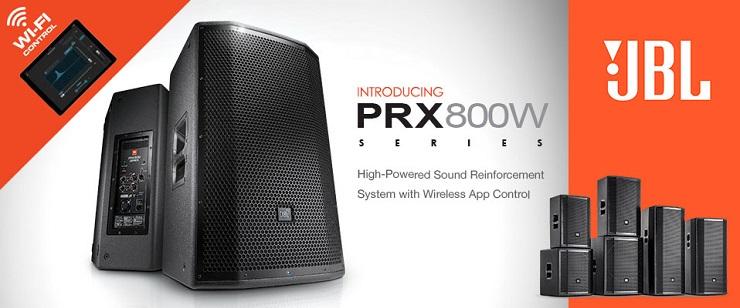 Акустичеcкие системы JBL PRX 800